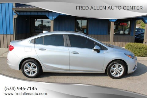 2016 Chevrolet Cruze for sale at Fred Allen Auto Center in Winamac IN