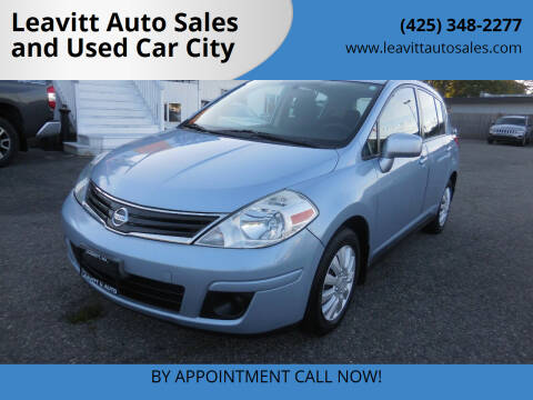 2010 Nissan Versa for sale at Leavitt Auto Sales and Used Car City in Everett WA