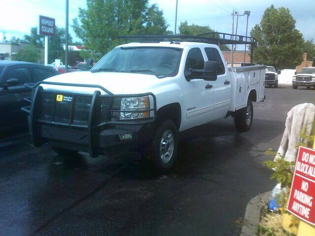 2010 Chevrolet Silverado 3500HD for sale at University Auto Sales Inc in Pocatello ID