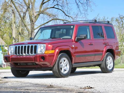 2007 Jeep Commander for sale at Tonys Pre Owned Auto Sales in Kokomo IN