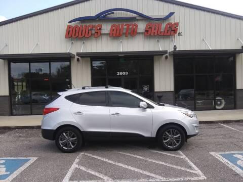 2014 Hyundai Tucson for sale at DOUG'S AUTO SALES INC in Pleasant View TN