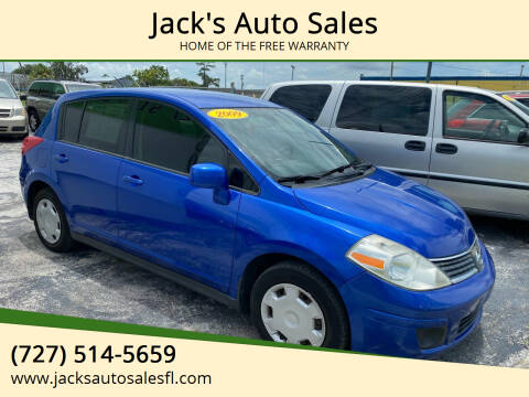 2009 Nissan Versa for sale at Jack's Auto Sales in Port Richey FL