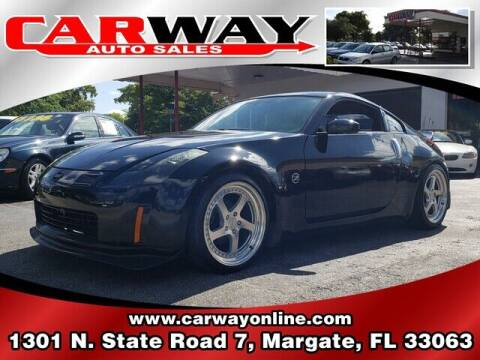 2003 Nissan 350Z for sale at CARWAY Auto Sales in Margate FL
