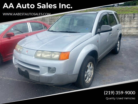 2003 Saturn Vue for sale at AA Auto Sales Inc. in Gary IN