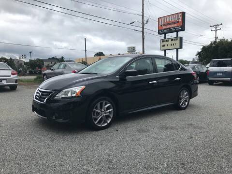 2013 Nissan Sentra for sale at Autohaus of Greensboro in Greensboro NC