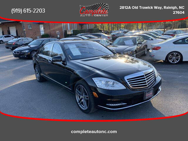 2011 Mercedes-Benz S-Class for sale at Complete Auto Center , Inc in Raleigh NC