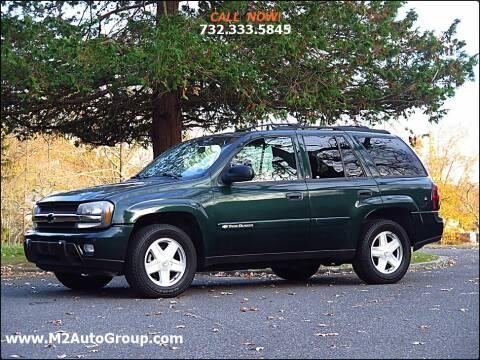 2003 Chevrolet TrailBlazer for sale at M2 Auto Group Llc. EAST BRUNSWICK in East Brunswick NJ