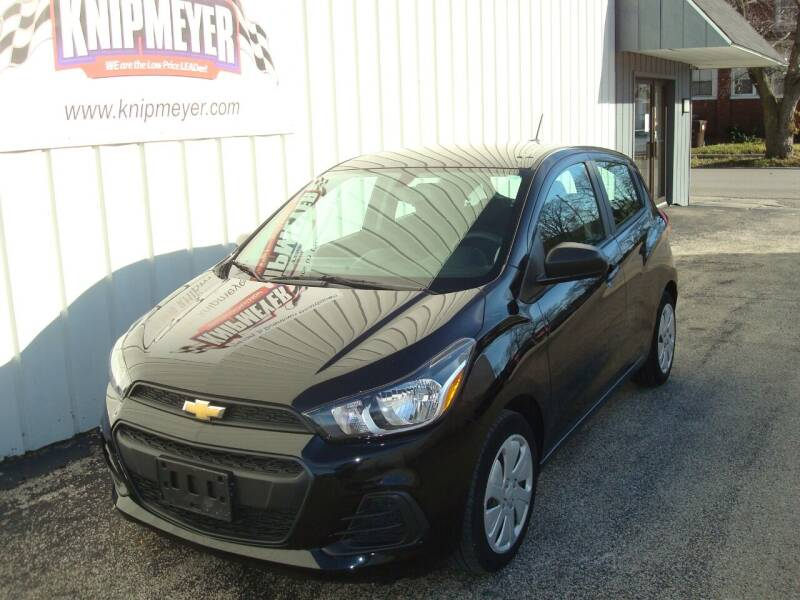 2018 Chevrolet Spark for sale at Team Knipmeyer in Beardstown IL