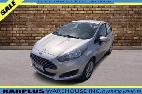 2015 Ford Fiesta for sale at Karplus Warehouse in Pacoima CA