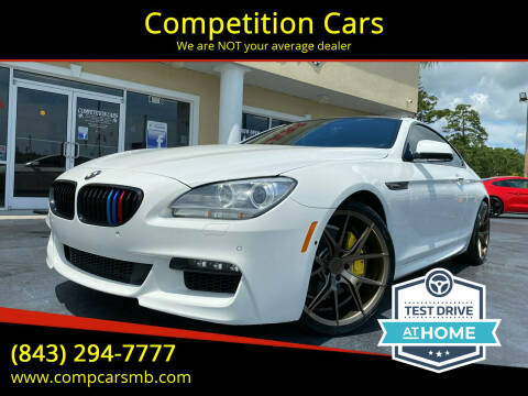 2013 BMW 6 Series for sale at Competition Cars in Myrtle Beach SC
