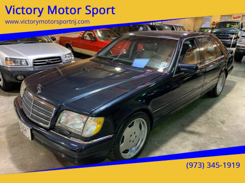 1999 Mercedes-Benz S-Class for sale at Victory Motor Sport in Paterson NJ