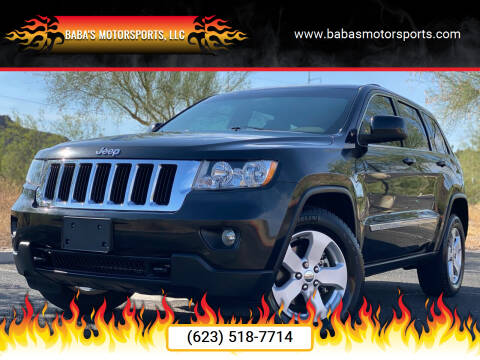 2012 Jeep Grand Cherokee for sale at Baba's Motorsports, LLC in Phoenix AZ