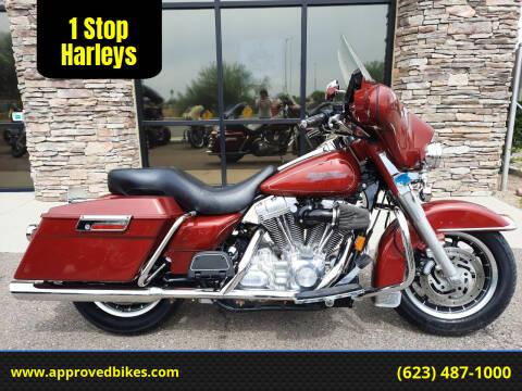 2007 Harley-Davidson Electra Glide Standard FLHT for sale at 1 Stop Harleys in Peoria AZ