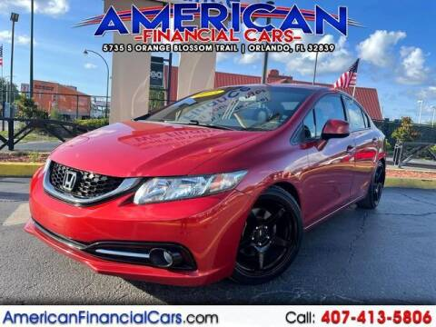 2013 Honda Civic for sale at American Financial Cars in Orlando FL