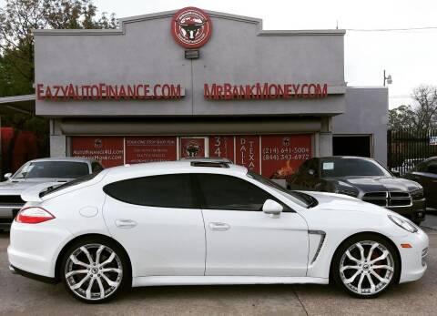 2013 Porsche Panamera for sale at Eazy Auto Finance in Dallas TX