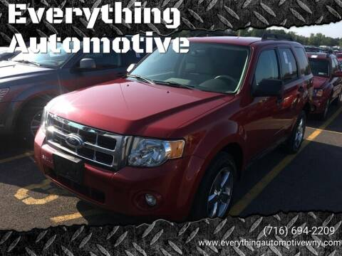 2011 Ford Escape for sale at Everything Automotive in Tonawanda NY