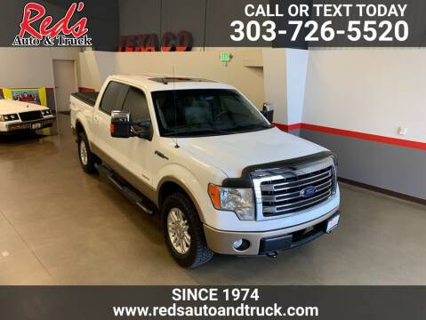 2013 Ford F-150 for sale at Red's Auto and Truck in Longmont CO