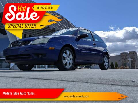 2005 Ford Focus for sale at Middle Man Auto Sales in Savannah GA
