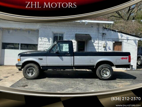 1996 Ford F-150 for sale at ZHL Motors in House Springs MO