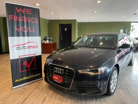 2014 Audi A6 for sale at AutoMax in West Hartford CT