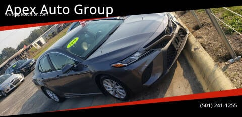 2019 Toyota Camry for sale at Apex Auto Group in Cabot AR