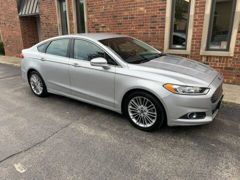 2014 Ford Fusion for sale at Riverview Auto Brokers in Des Plaines IL