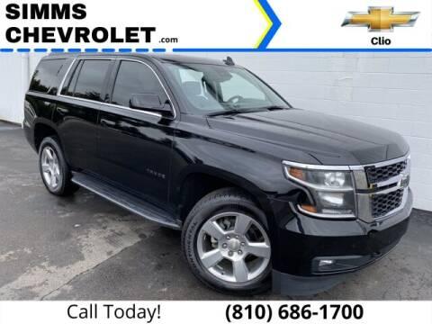 2018 Chevrolet Tahoe for sale at Aaron Adams @ Simms Chevrolet in Clio MI