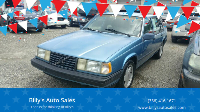 1993 Volvo 940 for sale at Billy's Auto Sales in Winston Salem NC