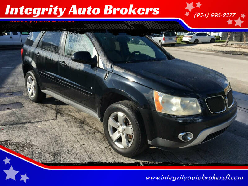 2006 Pontiac Torrent for sale at Integrity Auto Brokers in Pompano Beach FL