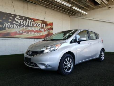 2016 Nissan Versa Note for sale at SULLIVAN MOTOR COMPANY INC. in Mesa AZ