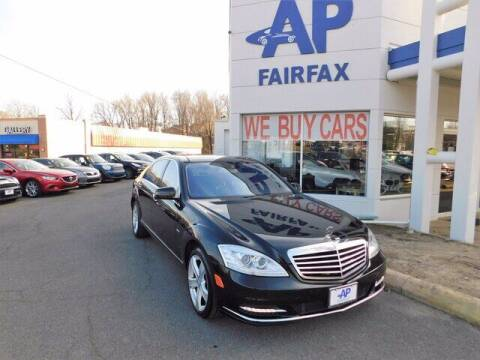 2012 Mercedes-Benz S-Class for sale at AP Fairfax in Fairfax VA