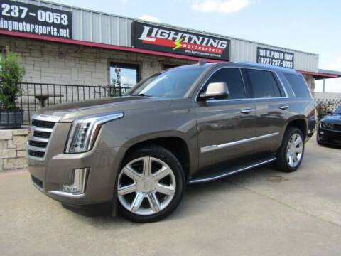 2015 Cadillac Escalade for sale at Lightning Motorsports in Grand Prairie TX
