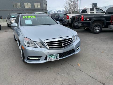 2013 Mercedes-Benz E-Class for sale at ALASKA PROFESSIONAL AUTO in Anchorage AK