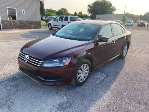 2013 Volkswagen Passat for sale at US5 Auto Sales in Shippensburg PA