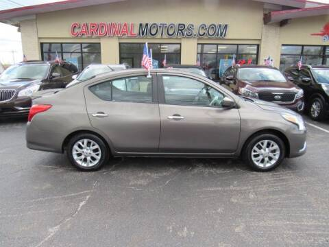 2015 Nissan Versa for sale at Cardinal Motors in Fairfield OH