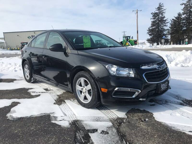 2015 Chevrolet Cruze for sale at QUALITY MOTORS in Cuba City WI