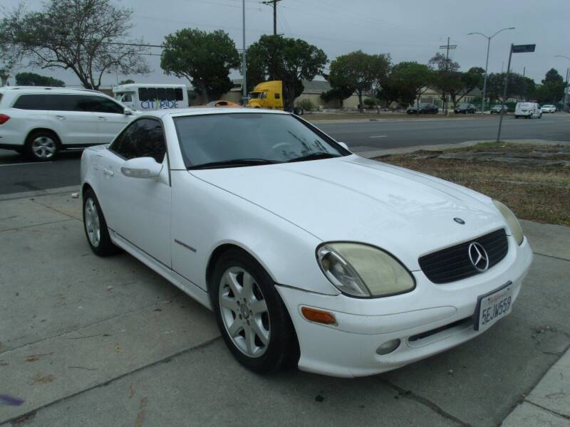 2001 Mercedes-Benz SLK for sale at Hollywood Auto Brokers in Los Angeles CA