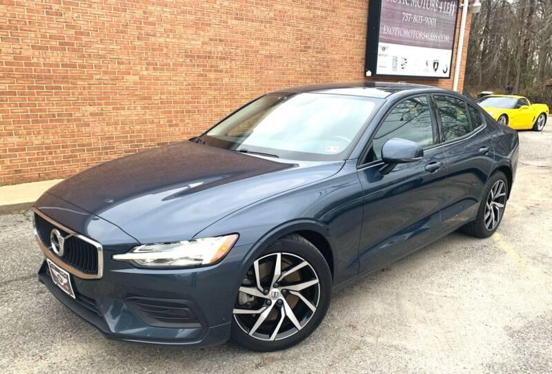 2019 Volvo S60 for sale at Exotic Motors 4 Less in Chesapeake VA