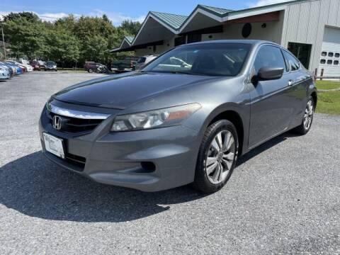 2012 Honda Accord for sale at Williston Economy Motors in South Burlington VT