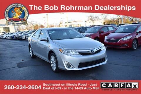 2014 Toyota Camry Hybrid for sale at BOB ROHRMAN FORT WAYNE TOYOTA in Fort Wayne IN