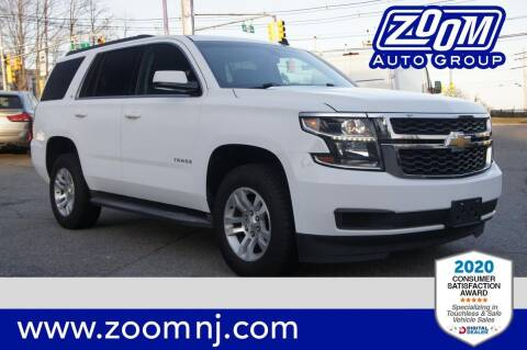 2015 Chevrolet Tahoe for sale at Zoom Auto Group in Parsippany NJ