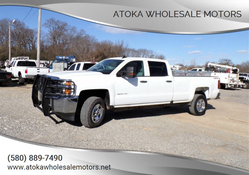 2017 Chevrolet Silverado 2500HD for sale at ATOKA WHOLESALE MOTORS in Atoka OK