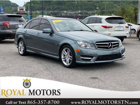 2012 Mercedes-Benz C-Class for sale at ROYAL MOTORS LLC in Knoxville TN