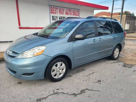 2009 Toyota Sienna for sale at Best Way Auto Sales II in Houston TX