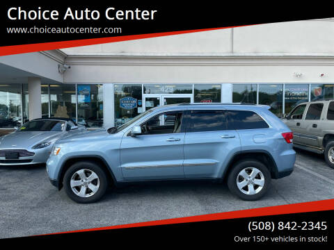 2013 Jeep Grand Cherokee for sale at Choice Auto Center in Shrewsbury MA