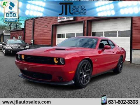 2016 Dodge Challenger for sale at JTL Auto Inc in Selden NY