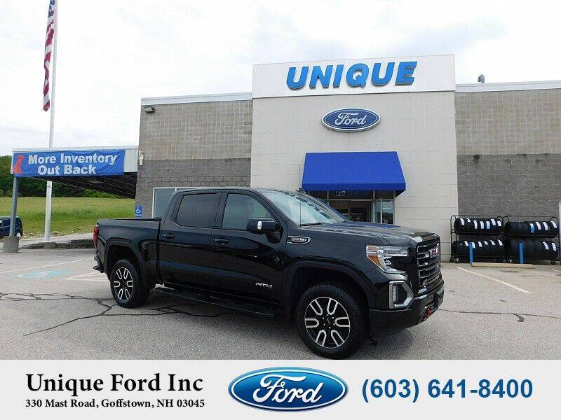 2019 GMC Sierra 1500 for sale at Unique Motors of Chicopee - Unique Ford in Goffstown NH