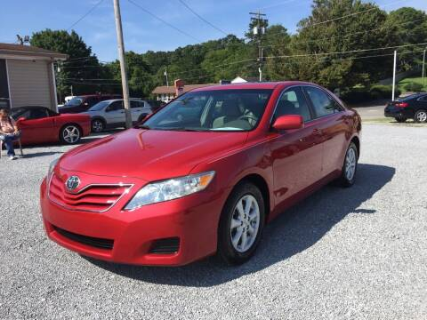 2011 Toyota Camry for sale at Wholesale Auto Inc in Athens TN