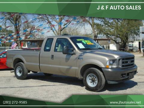 2004 Ford F-250 Super Duty for sale at J & F AUTO SALES in Houston TX