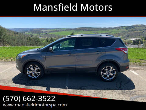 2014 Ford Escape for sale at Mansfield Motors in Mansfield PA